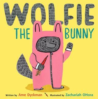 wolfie the bunny, siblings in picture books